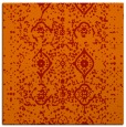 rug #1097906 | square red traditional rug