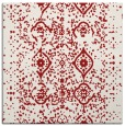 rug #1097910 | square red faded rug