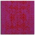 rug #1097914 | square red traditional rug