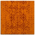 rug #1097918 | square red-orange traditional rug