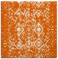 rug #1097930 | square red-orange faded rug