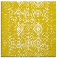 rug #1097942 | square white damask rug