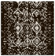 rug #1097950 | square brown traditional rug