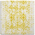 rug #1097974 | square yellow traditional rug
