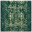 rug #1097982 | square yellow damask rug