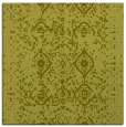 rug #1097986 | square light-green traditional rug