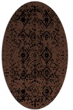 rug #1098034 | oval traditional rug