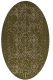 rug #1098135 | oval damask rug