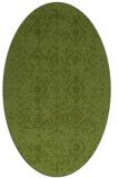 rug #1098146   oval green rug