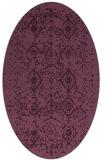 rug #1098193 | oval damask rug