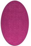 rug #1098241 | oval traditional rug