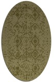 rug #1098366 | oval light-green faded rug