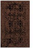 rug #1098402 |  brown traditional rug