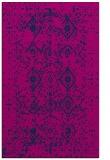 rug #1098422 |  blue damask rug