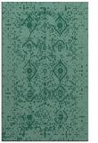 rug #1098442 |  blue-green faded rug