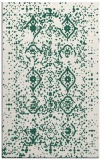 rug #1098522 |  green traditional rug