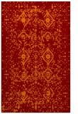 rug #1098590 |  red-orange damask rug