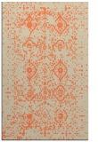 rug #1098598 |  orange traditional rug