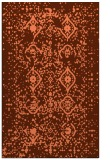 rug #1098602 |  orange faded rug