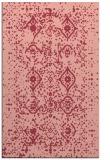 rug #1098614 |  pink traditional rug