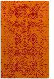 rug #1098642 |  orange damask rug