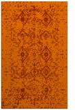 rug #1098654 |  red-orange traditional rug