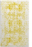 rug #1098710 |  yellow damask rug