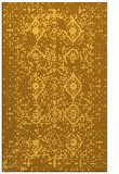rug #1098714 |  yellow damask rug