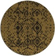 rug #1098774 | round mid-brown popular rug