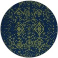 rug #1098799 | round faded rug