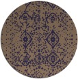 rug #1098862 | round beige damask rug