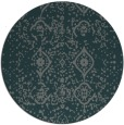 rug #1098886 | round faded rug