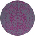 rug #1098922   round faded rug