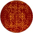 rug #1098960 | round faded rug