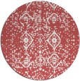 rug #1098989 | round faded rug