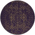 rug #1098999 | round faded rug