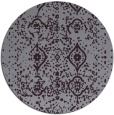 rug #1099002 | round purple traditional rug