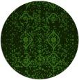 rug #1099038 | round damask rug