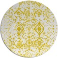 rug #1099078 | round white faded rug