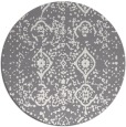 rug #1099081 | round damask rug
