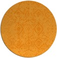 rug #1099114 | round light-orange popular rug