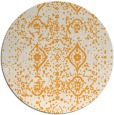 rug #1099118 | round white faded rug
