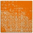 rug #1101330   square orange faded rug