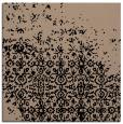 rug #1101342 | square beige damask rug