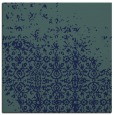 rug #1101370 | square blue graphic rug