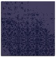 rug #1101418 | square blue-violet damask rug