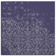 rug #1101422 | square blue-violet damask rug