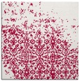 rug #1101450 | square red faded rug