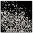 rug #1101474   square black traditional rug
