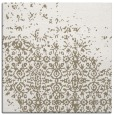 rug #1101490 | square mid-brown faded rug